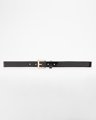 Express Womens Small Square Buckle Belt