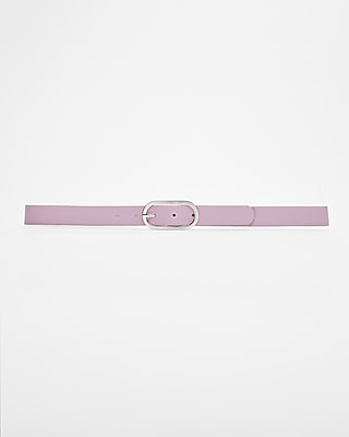 Express Womens Small Oval Buckle Belt