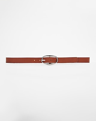 Express Womens Oval Buckle Editor's Belt