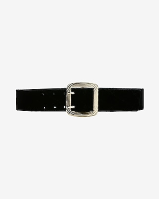 Express Womens Velvet Belt
