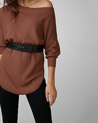 Express Womens Cut-Out Belt