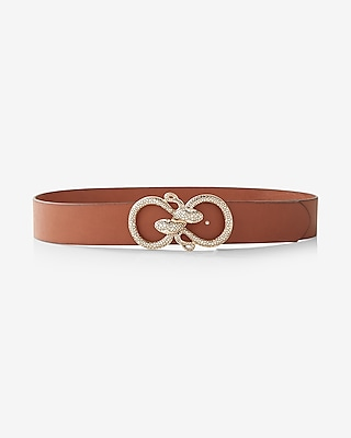 Express Womens Serpent Buckle Belt