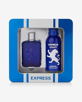 Express Womens Express Womens Loyalty For Men 1.7 Oz. Cologne And 4.2 Oz. Body Spray