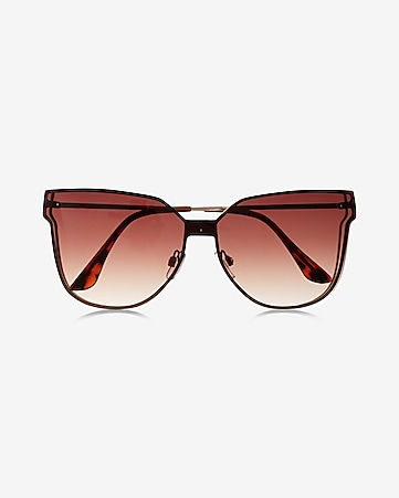 tinted lens shield sunglasses