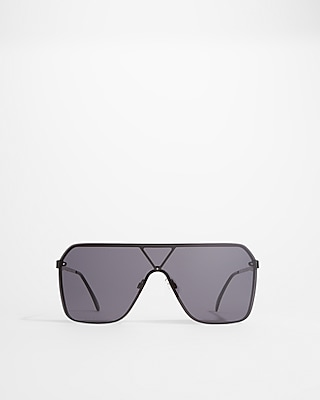 Express Womens Tinted Shield Sunglasses