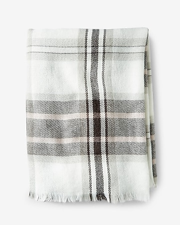 impala plaid blanket scarf