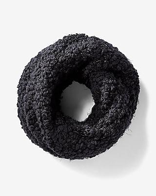 Express Womens Black Popcorn Sequin Snood