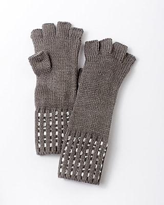 Express Womens Embellished Fingerless Gloves