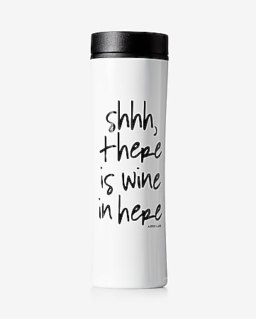 aspen lane shh wine travel mug