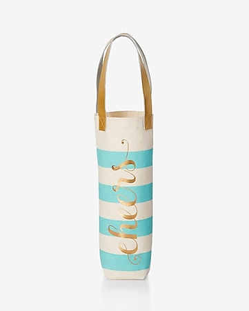 rosanna charm school cheers wine bag