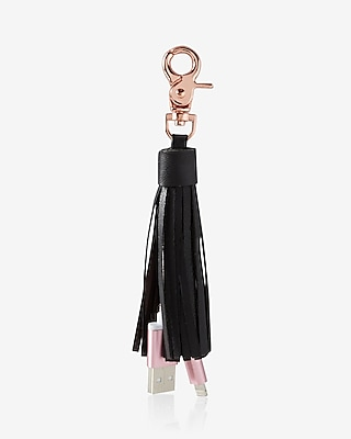 Express Womens Ok Orginals Usb Tassel Keychain And Bag Charm