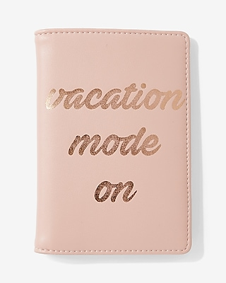 Express Womens Vacation Mode On Passport Holder