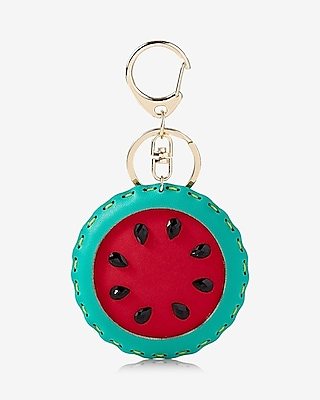 Express Womens Watermelon Keychain And Bag Charm