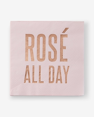 Express Womens Slant Collections Ros? All Day Napkins