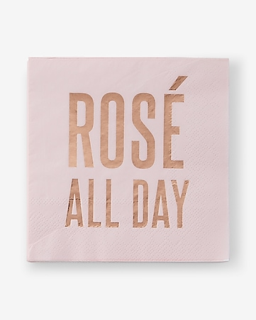slant collections rosé all day napkins