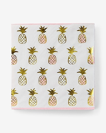 slant collections pineapple napkins