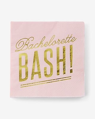 Express Womens Slant Collections Bachelorette Bash Napkins