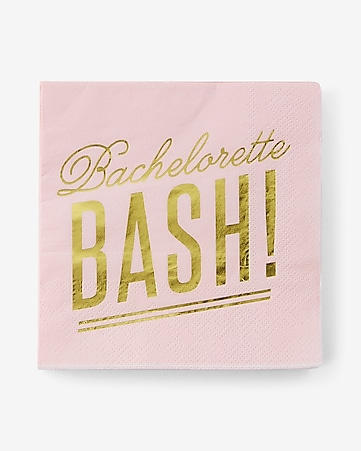 slant collections bachelorette bash napkins