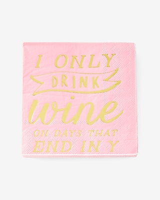 Slant Collections Wine Days Napkins