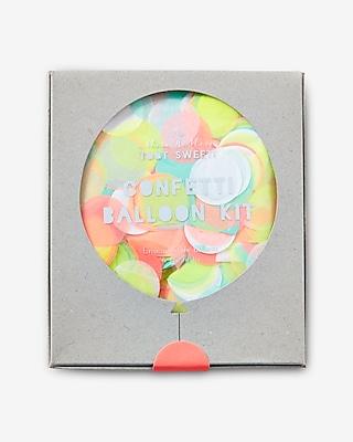 Express Womens Meri Meri Neon Confetti Balloon Kit Multi 11776383