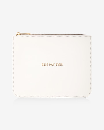 8 oak lane best day ever pouch
