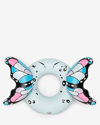 Express Womens Bigmouth Inc Butterfly Pool Float