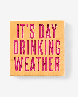 Slant Collections Day Drinking Weather Napkins