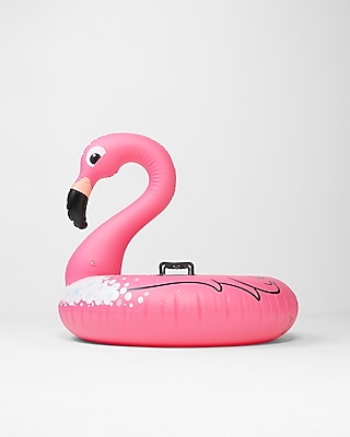 Express Womens Bigmouth Inc. Flamingo Snow Tube