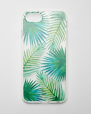 Express Womens Casery Palm Tree Iphone 7 Case