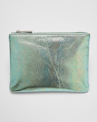 Express Womens Iridescent Pouch