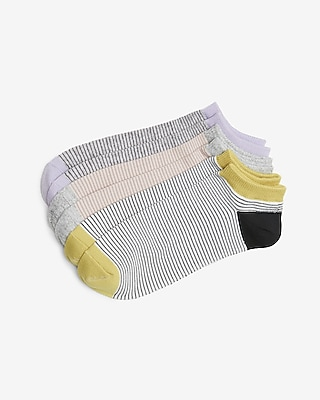 Express Womens 3 Pack Stripe Ankle Sock Set