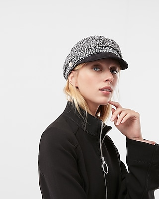 Express Womens Tweed Cap