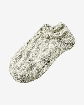Express Womens Heathered Popcorn Ankle Socks