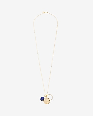 leo charm pendant necklace