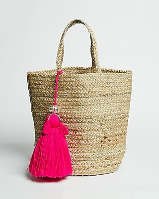 Shiraleah Veronica Metallic Woven Tote