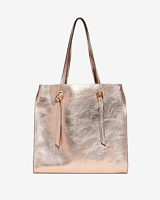 Express Womens Knot Handle Tote