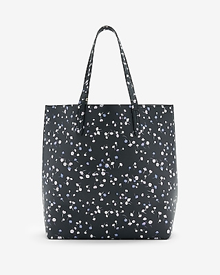Express Womens Reversible Tote With Pouch