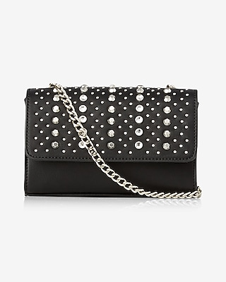 Express Womens Studded Cross Body Bag