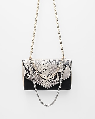 Express Womens Multi Chain Strap Shoulder Bag