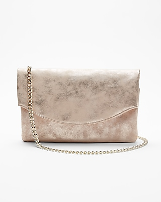 Express Womens Chain Strap Fold Over Shoulder Bag