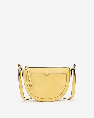 Express Womens Half Moon Crossbody Bag