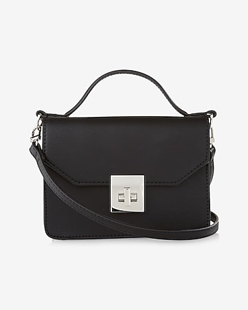 mini turnlock cross body bag