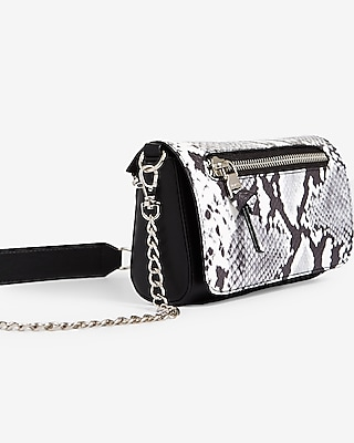 Snake Print Changeable Flap