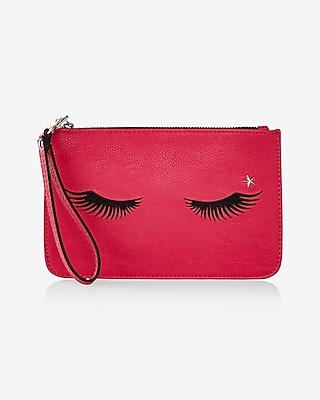 Express Womens Eyelash Wristlet
