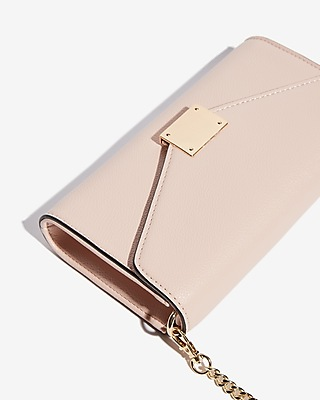 Express Womens Chain Strap Wallet
