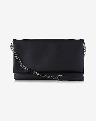 Express Womens Convertible Fold-Over Clutch at Express