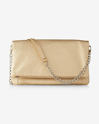 Express Womens Foldover Convertible Clutch at Express