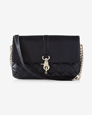 Express Womens Quilted Convertible Clutch at Express