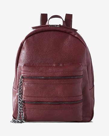 chain pocket backpack