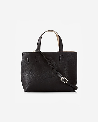 Express Womens Street Level Mini Reversible Tote With Wristlet at Express